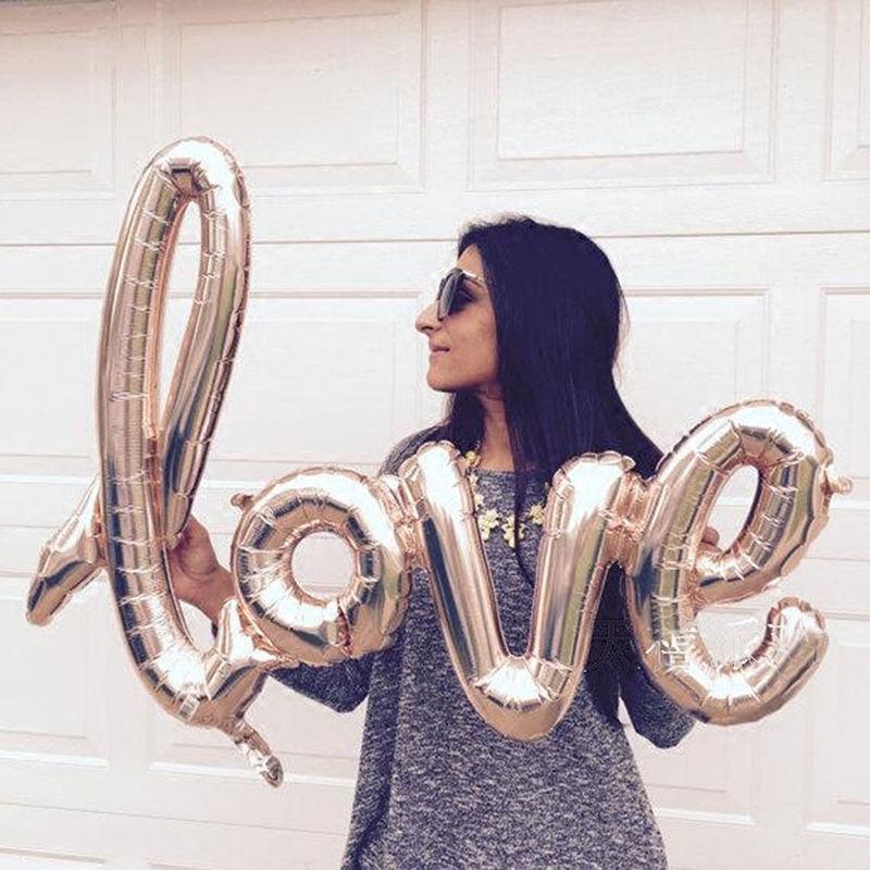 Balón Love + 2 srdiečka + nafukovač - Obrázok č. 3