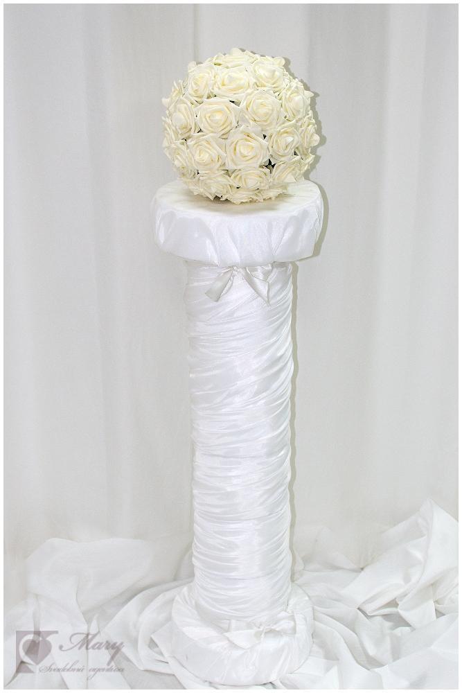 Svadobná dekorácia -stlp - Obrázok č. 1