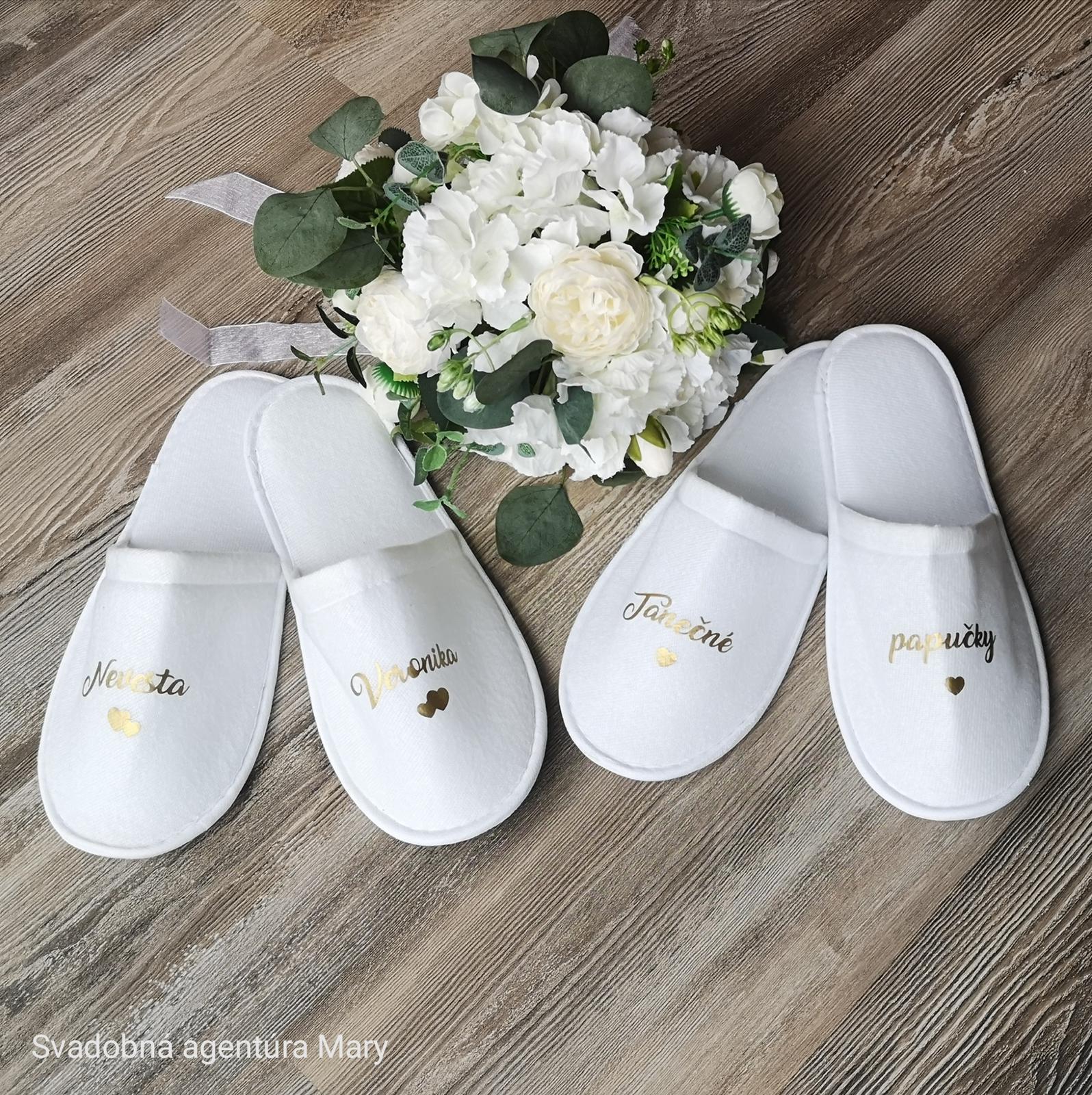 Tanečné svadobné papučky  - Obrázok č. 3