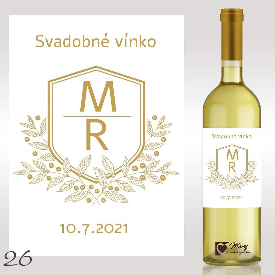 Etikety na víno a destiláty - Obrázok č. 1