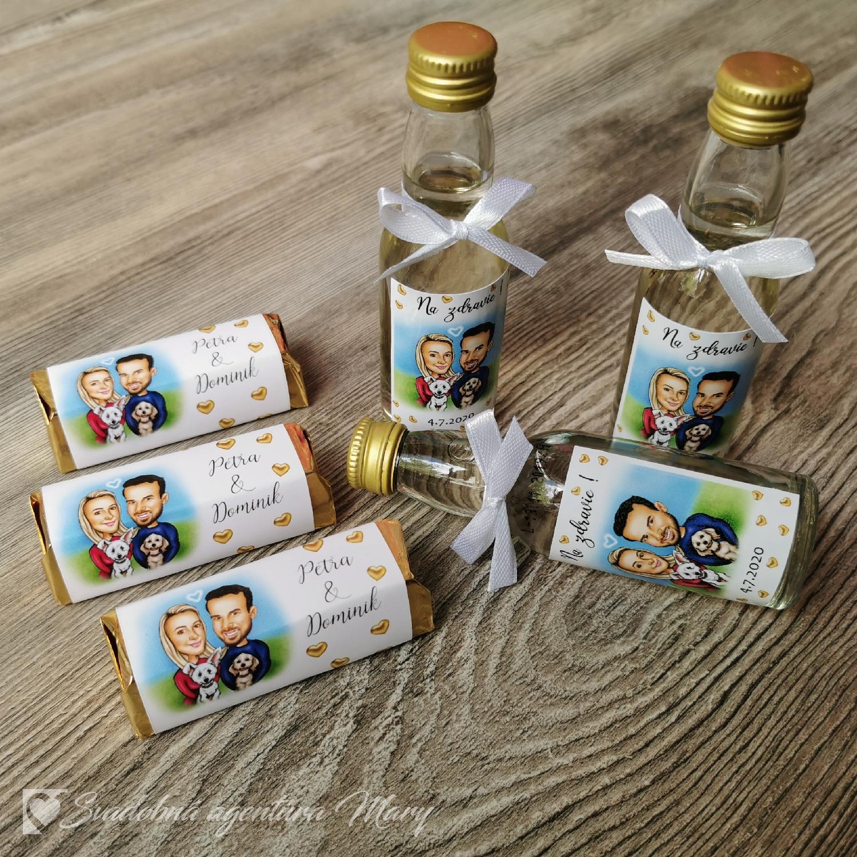 Mini fľaštičky - Obrázok č. 1