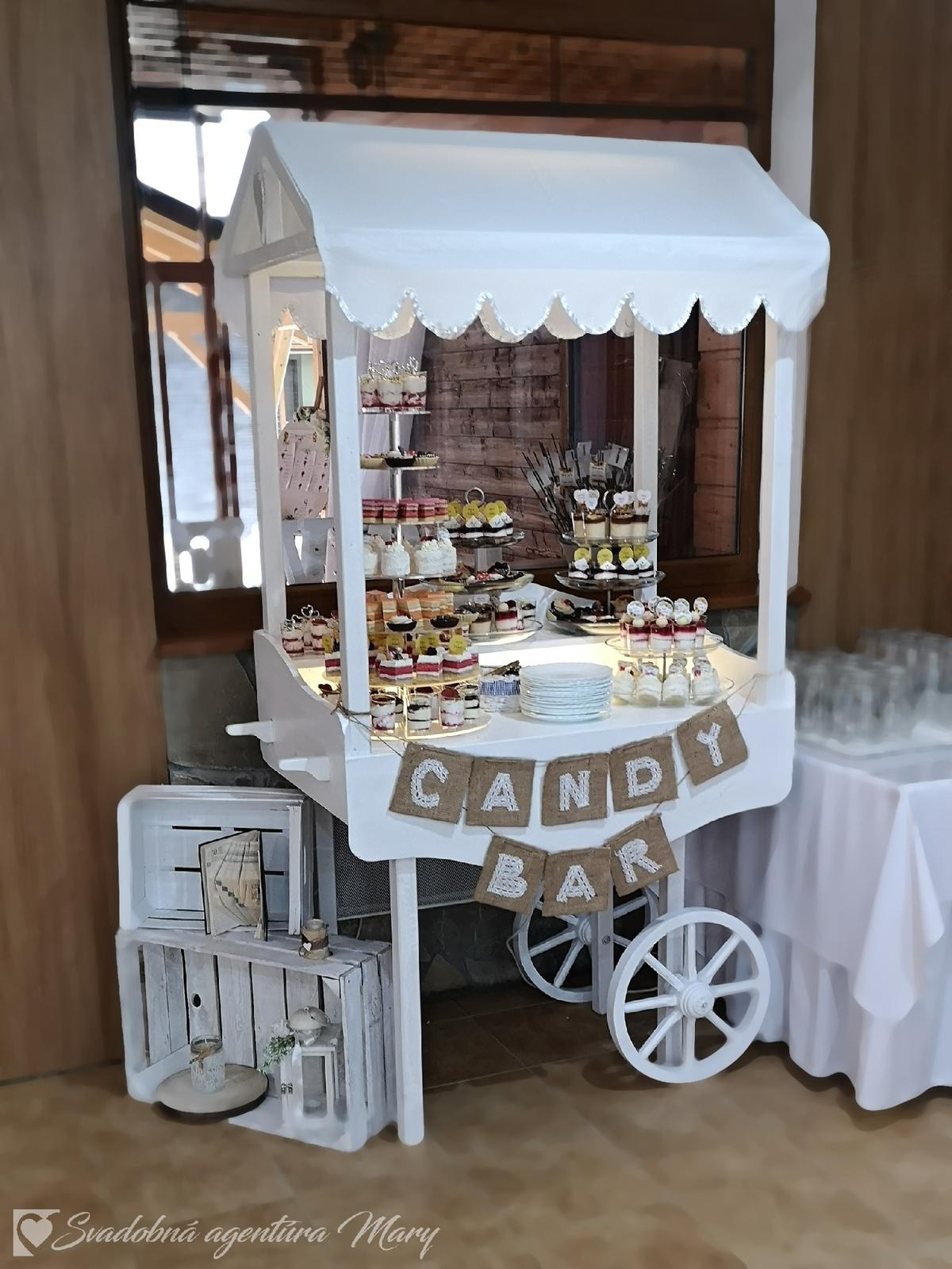 Candy bar - vozík - Obrázok č. 4