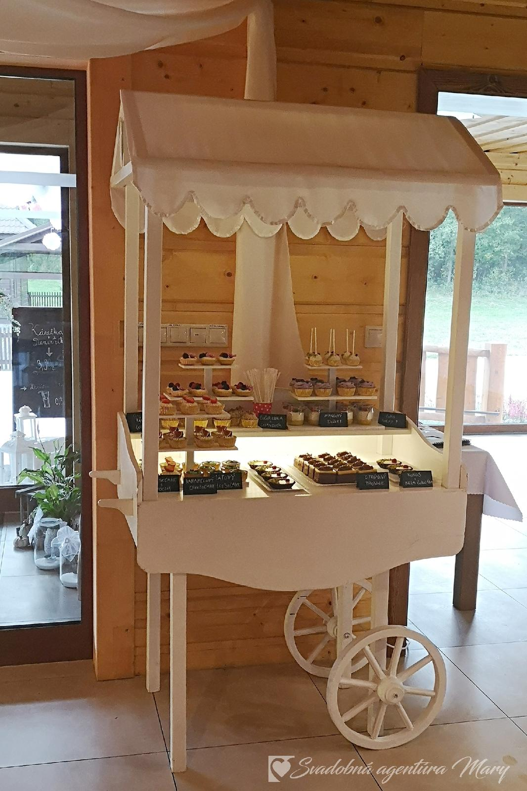 Candy bar - vozík - Obrázok č. 1