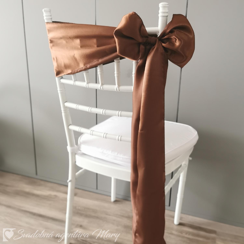 Mašle na stoličky rôzne farby - Obrázok č. 4