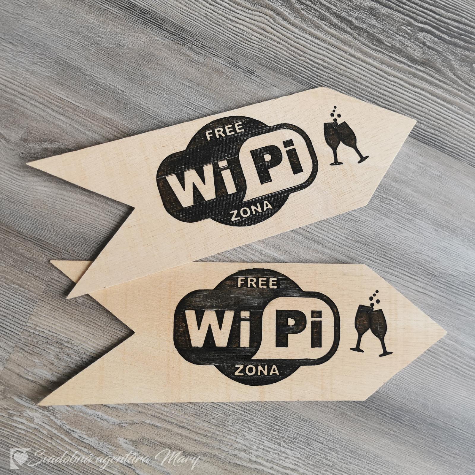 Šípka WiPi zona - Obrázok č. 1