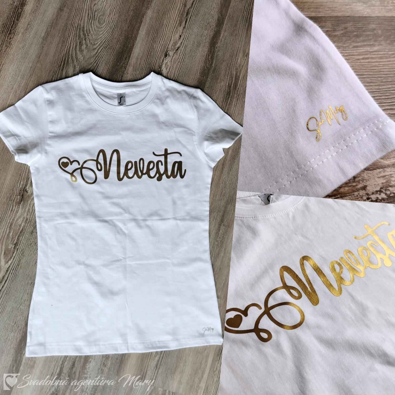 Tričko Nevesta - Obrázok č. 1