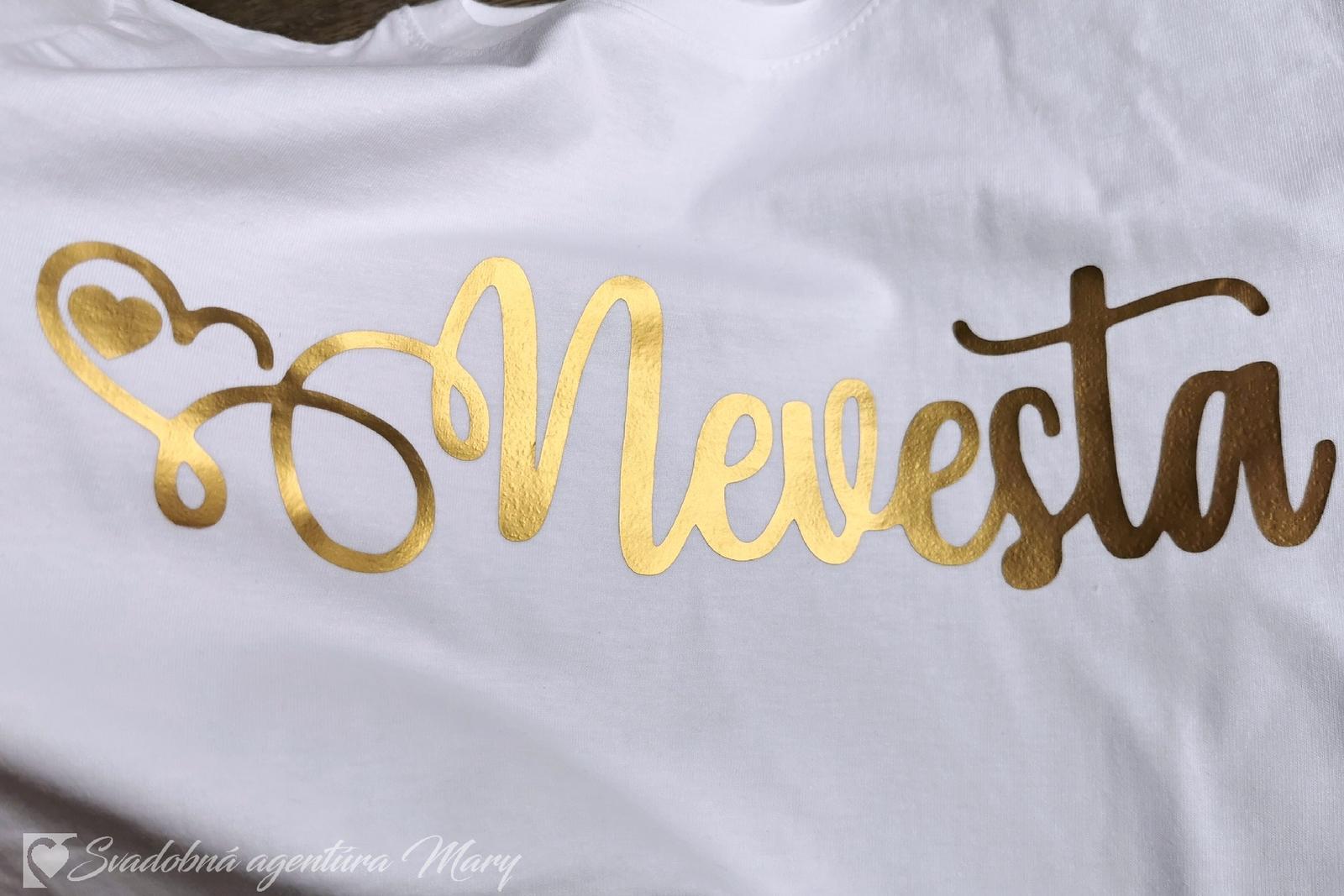 Tričko Nevesta - Obrázok č. 4