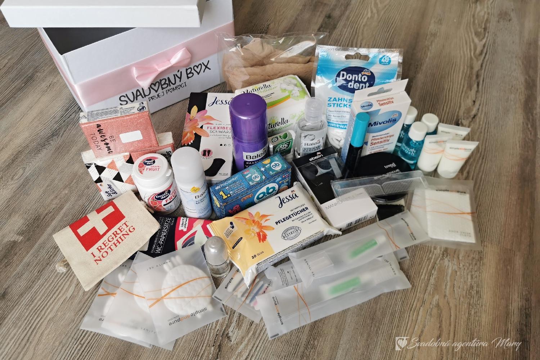 Svadobný box prvej pomoci dámsky + pánsky - Obrázok č. 2