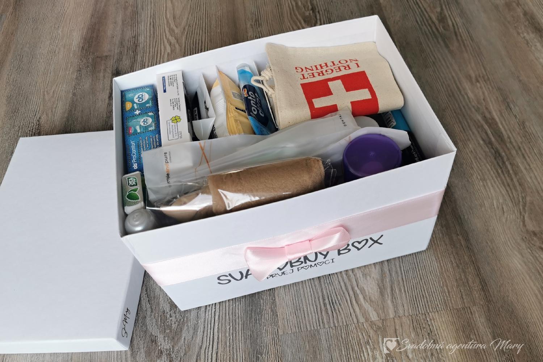 Svadobný box prvej pomoci dámsky + pánsky - Obrázok č. 3