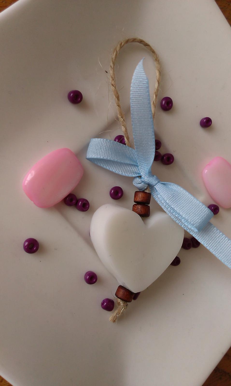 Mýdlové srdíčka s jutou - rustikální - Obrázek č. 5