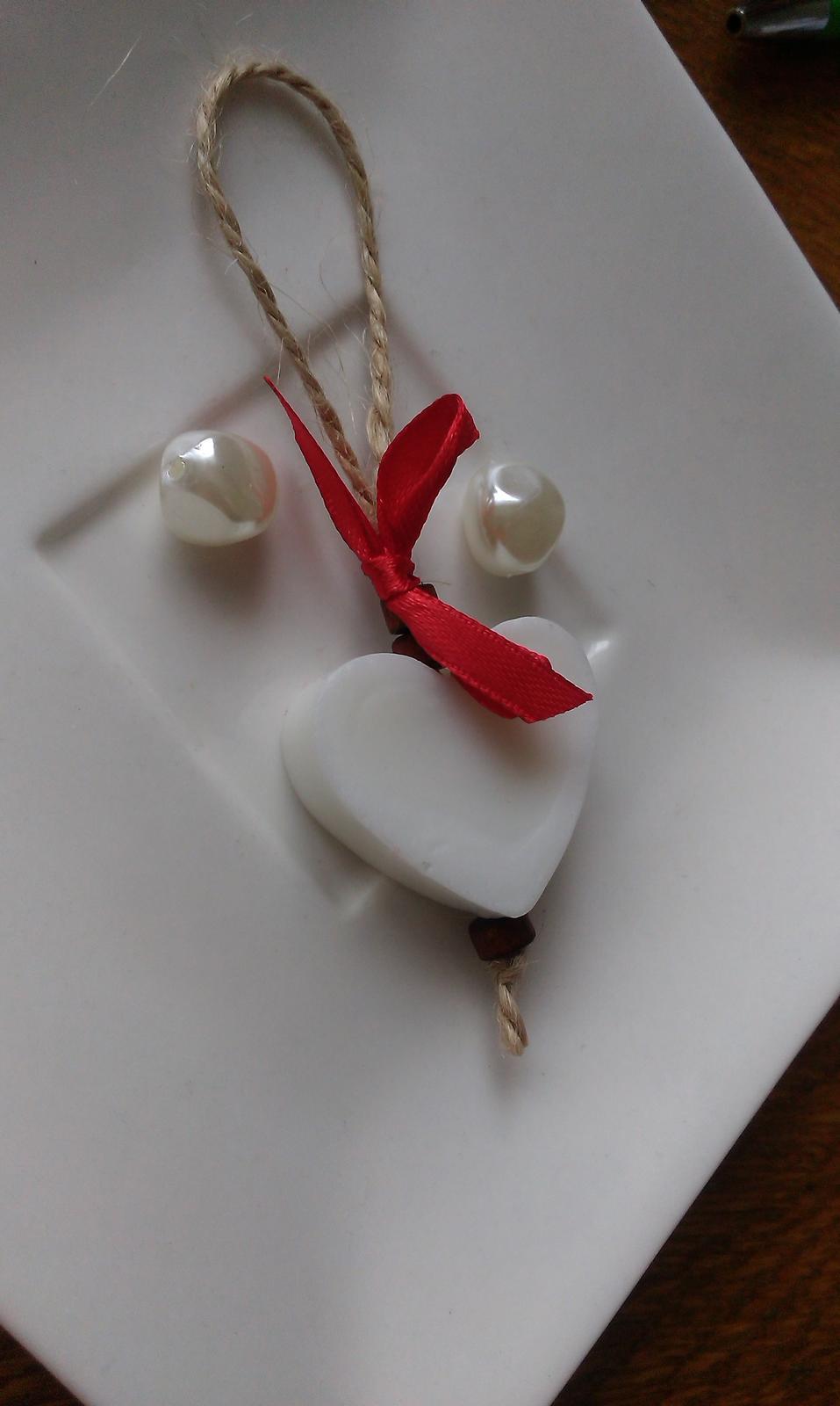 Mýdlové srdíčka s jutou - rustikální - Obrázek č. 7