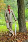 pánský svatební oblek, 52
