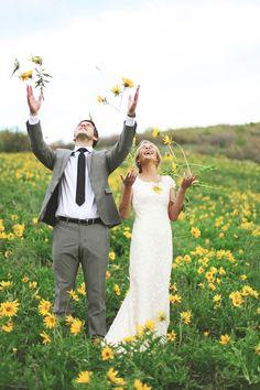 Inšpirácie pre svadobné fotenie v prírode - Obrázok č. 35