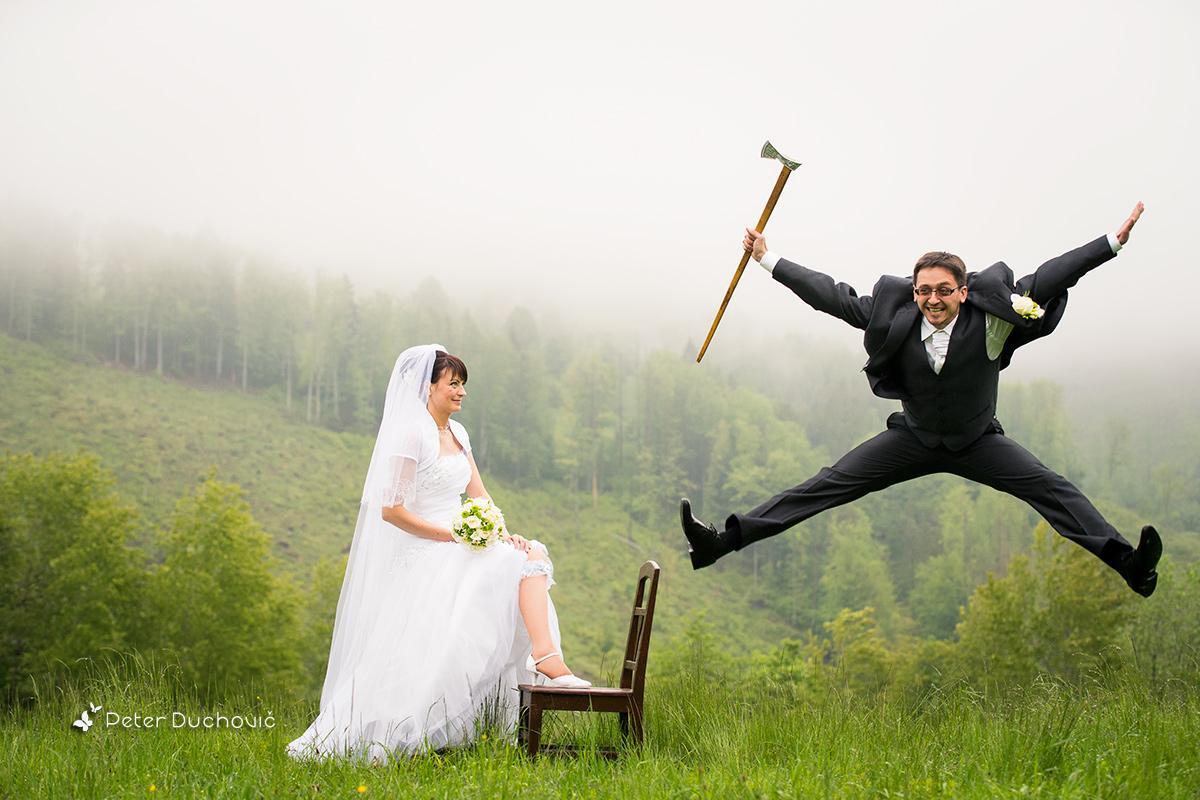 Inšpirácie pre svadobné fotenie v prírode - tak táto je dokonalá!! :D