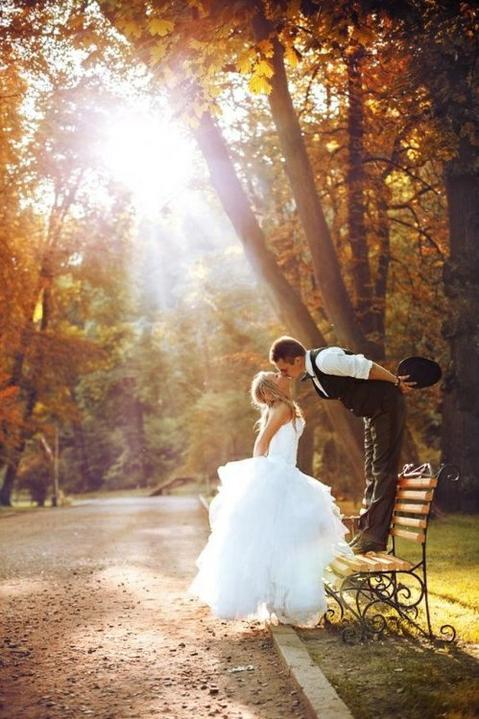 Inšpirácie pre svadobné fotenie v prírode - Obrázok č. 50