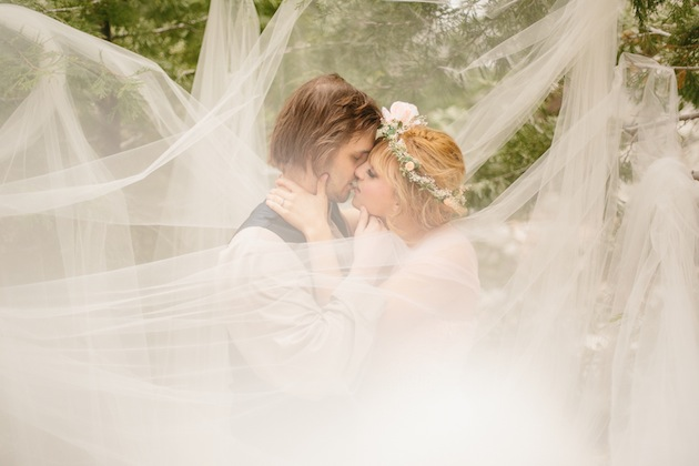Inšpirácie pre svadobné fotenie v prírode - rozprávkové :)