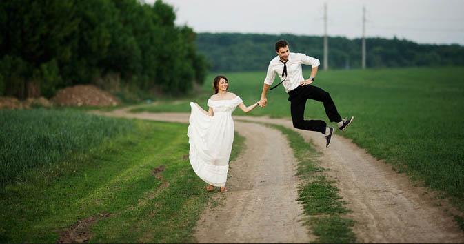 Inšpirácie pre svadobné fotenie v prírode - Obrázok č. 68