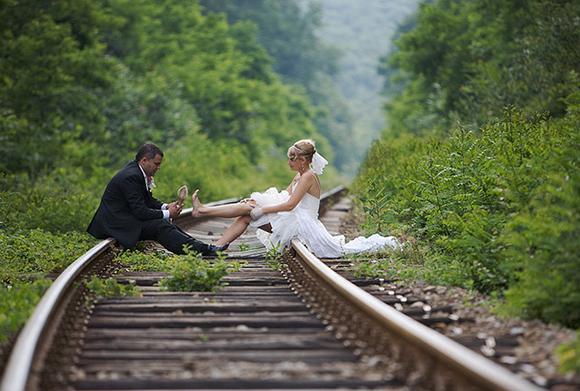 Inšpirácie pre svadobné fotenie v prírode - Obrázok č. 96