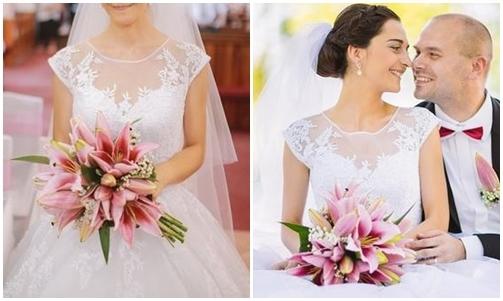 Svadobné kytice neviest z Mojej svadby - @tinusik20