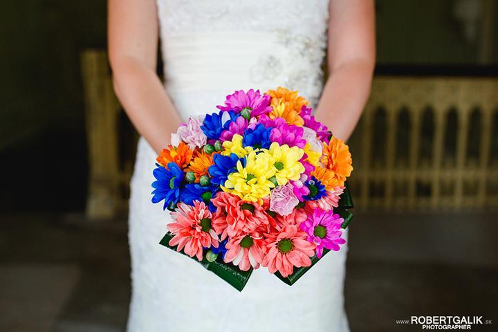 Svadobné kytice neviest z Mojej svadby - @martuska