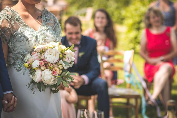Svadobné kytice neviest z Mojej svadby - @red_heart