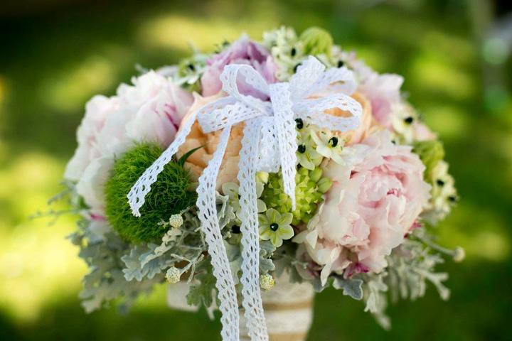 Svadobné kytice neviest z Mojej svadby - @som_ponorka