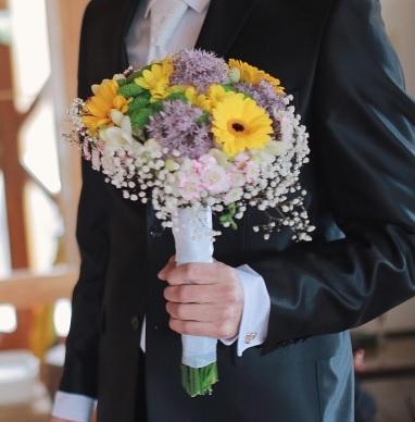 Svadobné kytice neviest z Mojej svadby - @mimsc