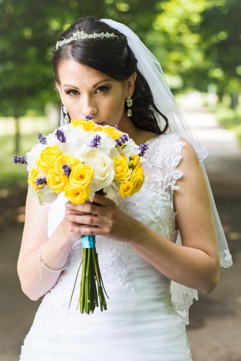 Svadobné kytice neviest z Mojej svadby - @ekyna