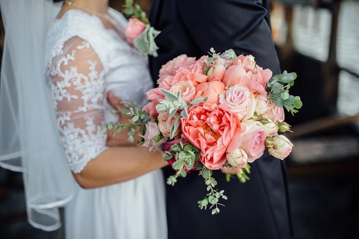 Svadobné kytice neviest z Mojej svadby - @zuzinaaaa