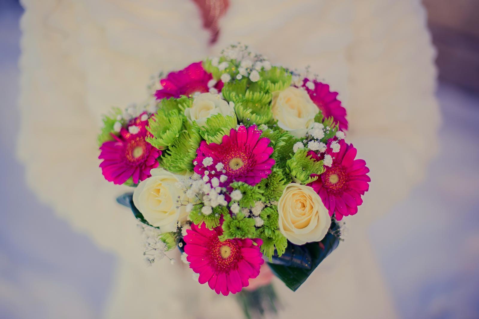 Svadobné kytice neviest z Mojej svadby - @somelierka