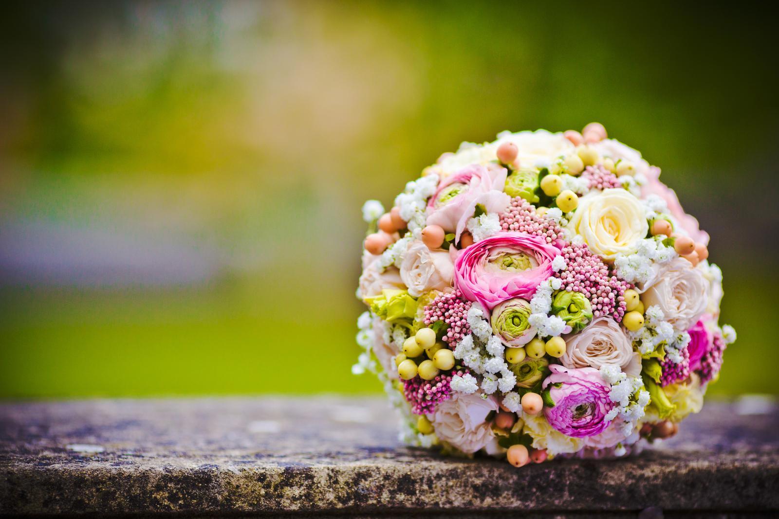 Svadobné kytice neviest z Mojej svadby - @serby