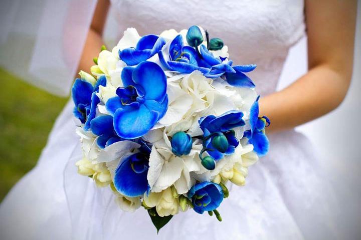 Svadobné kytice neviest z Mojej svadby - @snehulienka090515