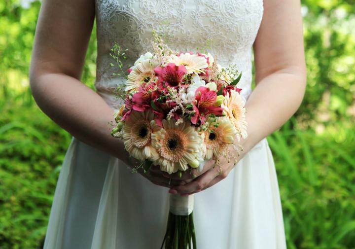 Svadobné kytice neviest z Mojej svadby - @myrepose
