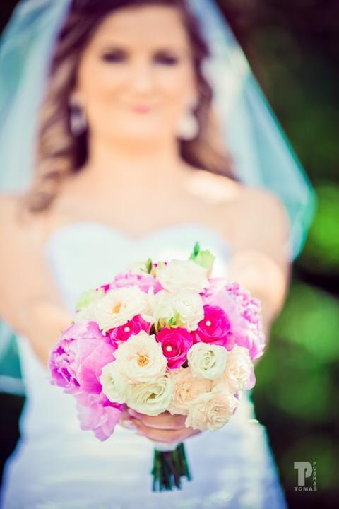 Svadobné kytice neviest z Mojej svadby - @skokanovas