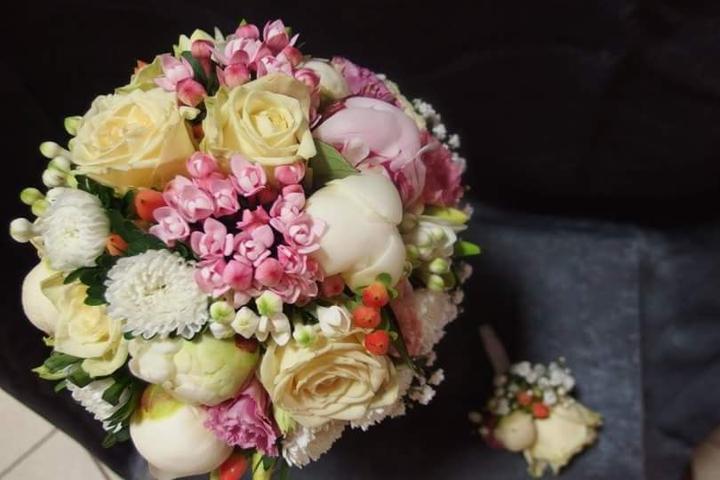 Svadobné kytice neviest z Mojej svadby - @adka0506