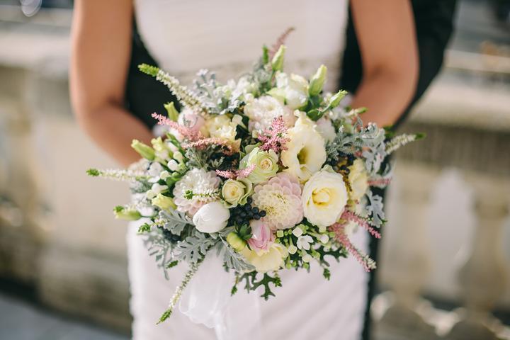 Svadobné kytice neviest z Mojej svadby - @betka162