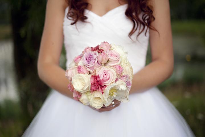 Svadobné kytice neviest z Mojej svadby - @bordovlaska