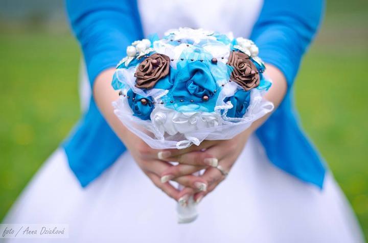 Svadobné kytice neviest z Mojej svadby - @lusia181