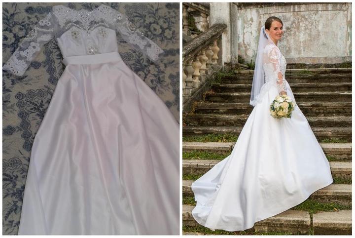 Svadobné šaty neviest z MS - @klaudy73