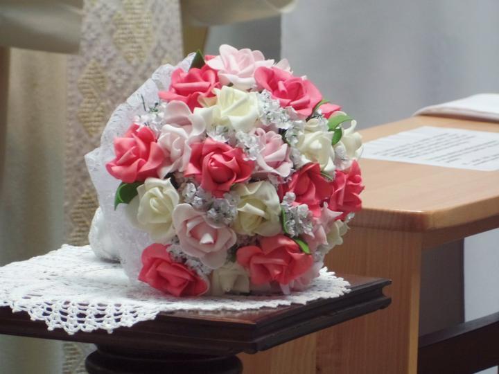 Svadobné kytice neviest z Mojej svadby - @zizzinka
