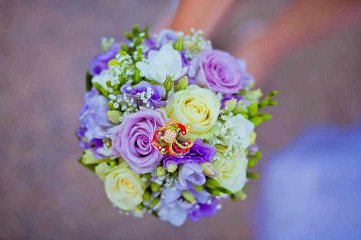 Svadobné kytice neviest z Mojej svadby - @bejusicek