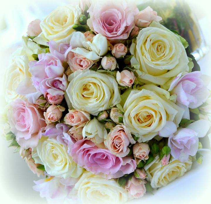 Svadobné kytice neviest z Mojej svadby - @evkapudlikova