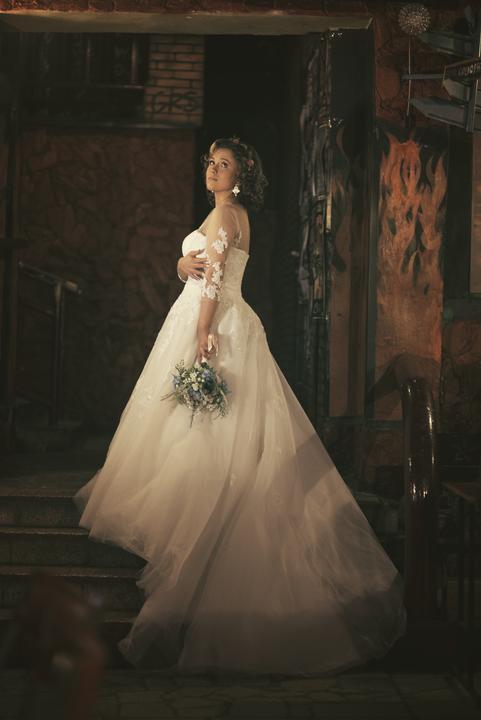 Svadobné šaty neviest z MS - @tinadeville