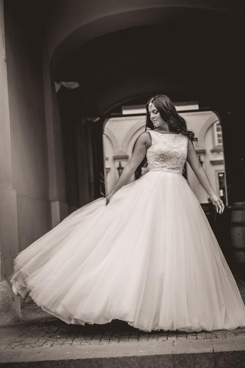 Svadobné šaty neviest z MS - @monamona