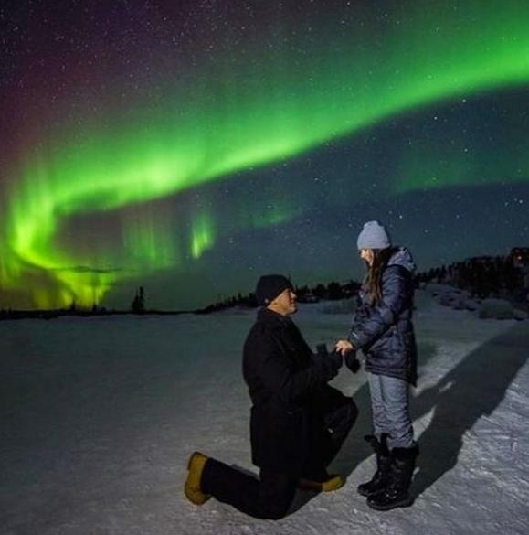 Vezmeš si ma...? ♥ - severská romantika... :)