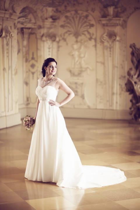 Svadobné šaty neviest z MS - @llabello