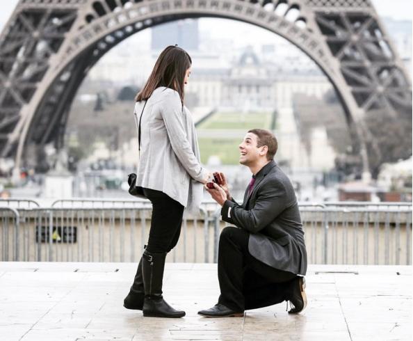 Vezmeš si ma...? ♥ - Paríž ♥