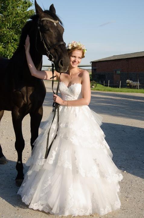 Svadobné šaty neviest z MS - @jankasiky