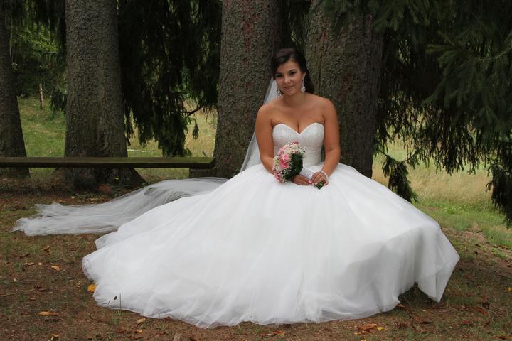 Svadobné šaty neviest z MS - @petra313