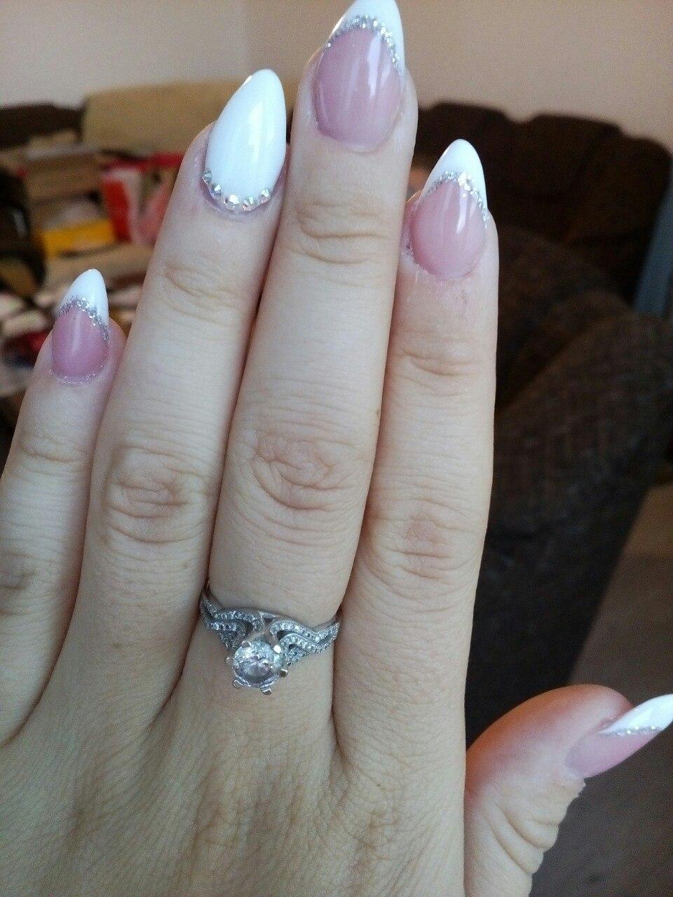 Svadobné manikúry neviest z MS - @catrina_so - Nechty: tvorba kamarátky